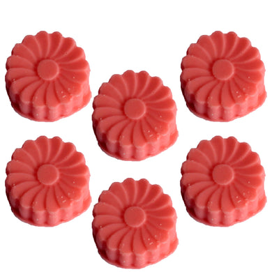 Pack of 6 Natural Soy Wax Melts - Watermelon Fresh