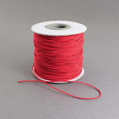 1 x Red Elastic Cord 10 Metre x 1mm Thong Cord