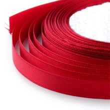 Load image into Gallery viewer, 1 x Red Satin Ribbon 20 Metre x 7mm Spool