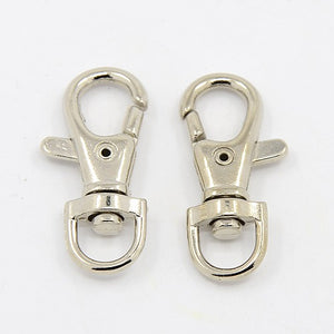 10 x Alloy Swivel Lobster Claw Clasp 39 x 17mm