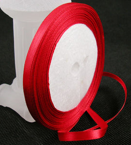 1 x Red Satin Ribbon 20 Metre x 25mm
