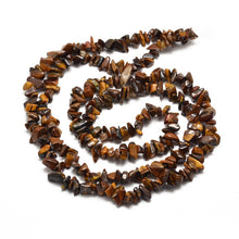 Load image into Gallery viewer, Long Strand Of 240+ Tiger Eye 5-8mm Chip Beads