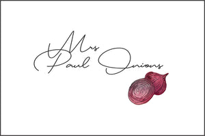 Mrs. Paul Onion