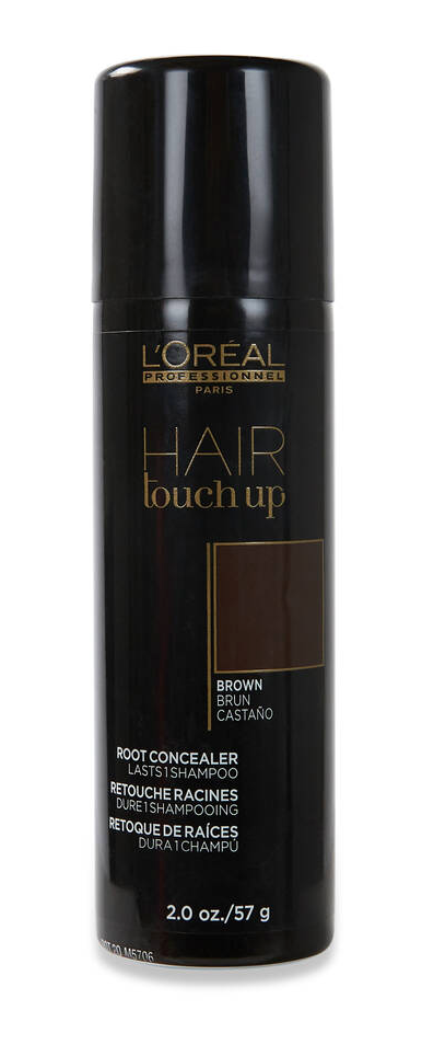 L'OREAL PROFESSIONAL HAIR TOUCH UP CONCEALER BROWN
