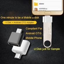 Load image into Gallery viewer, USB Flash Drive 3.0 Pen Drive Metal Flash Memory Stick