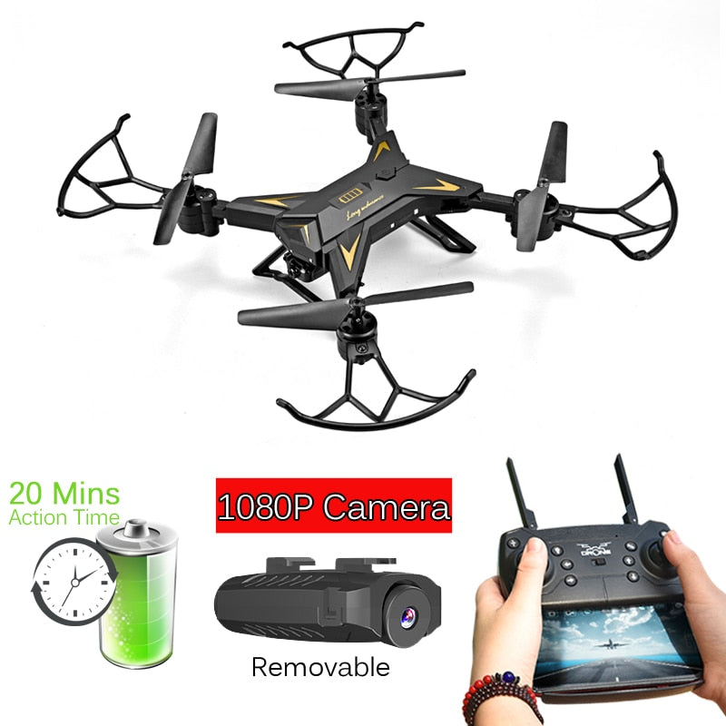 T-Rex RC Helicopter Drone with Camera HD 1080P WIFI FPV