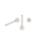 18G Threadless Titanium Barbell