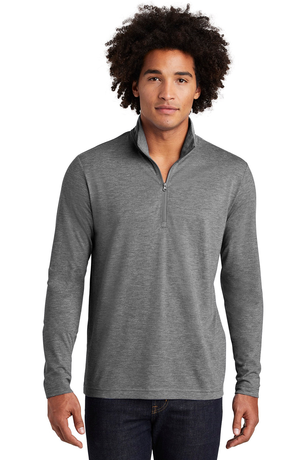 Marblehead Bank Men's Tri-Blend 1/4 Zip Pullover