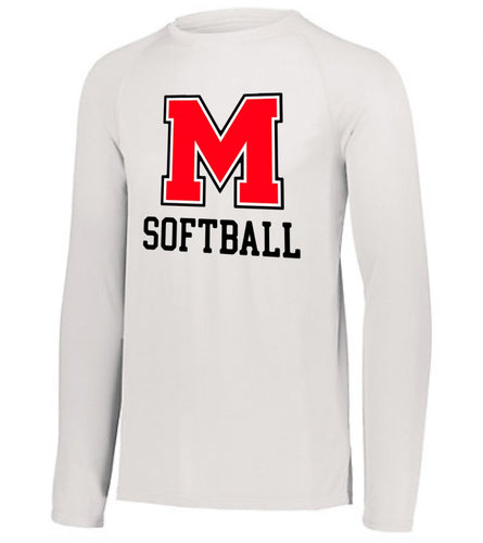 MHS Softball Performance Long Sleeve