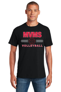 MVMS Volleyball Heavy Cotton Tee Shirt