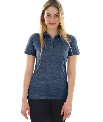 Marblehead Bank Women's Space Dye Polo