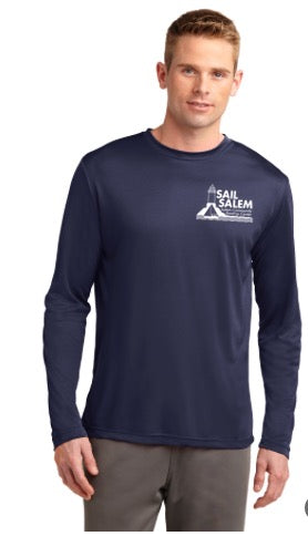 Sail Salem Men's Long Sleeve Performance Tee