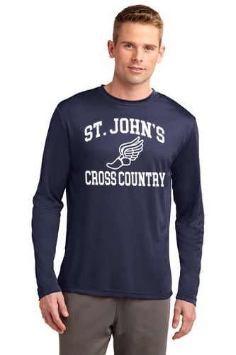 St. John Performance Long Sleeve Tee
