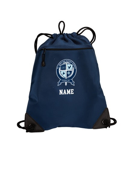 St. John Personalized Cinch Bag
