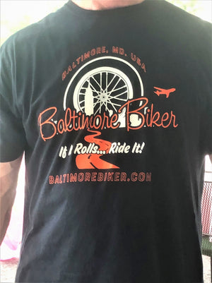 Baltimore Biker Crew Neck T-Shirt (Collectable Edition 1-2019)