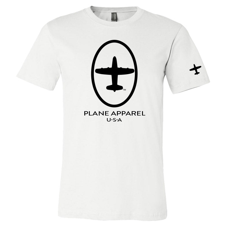 Plane Apparel Short Sleeve Logo T-Shirt