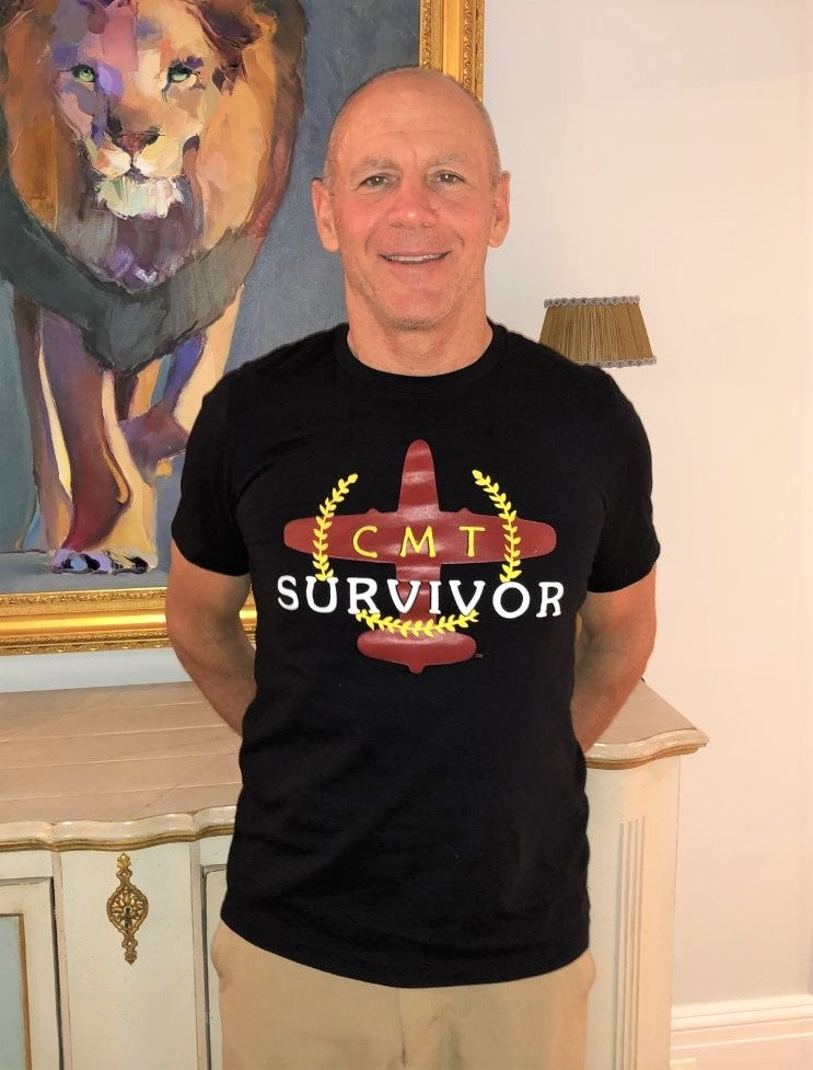 PLANE Survivor CMT Crew Neck T-Shirt (Black)