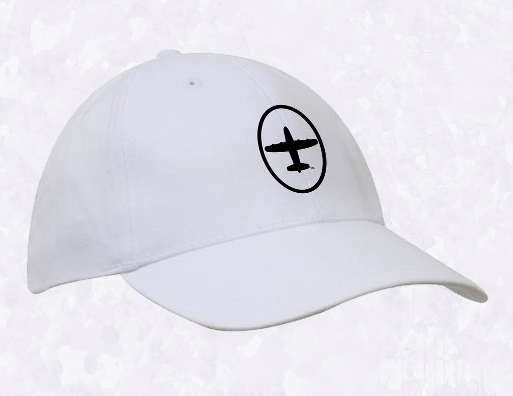 PLANE 6-Panel Cotton Hat (structured)