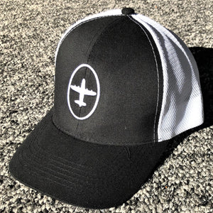Hanger 11 Brushed Cotton 6-Panel Mesh Back Trucker Hat