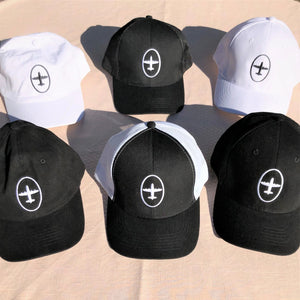 Hanger 11 6-Panel Cotton Hats (structured)
