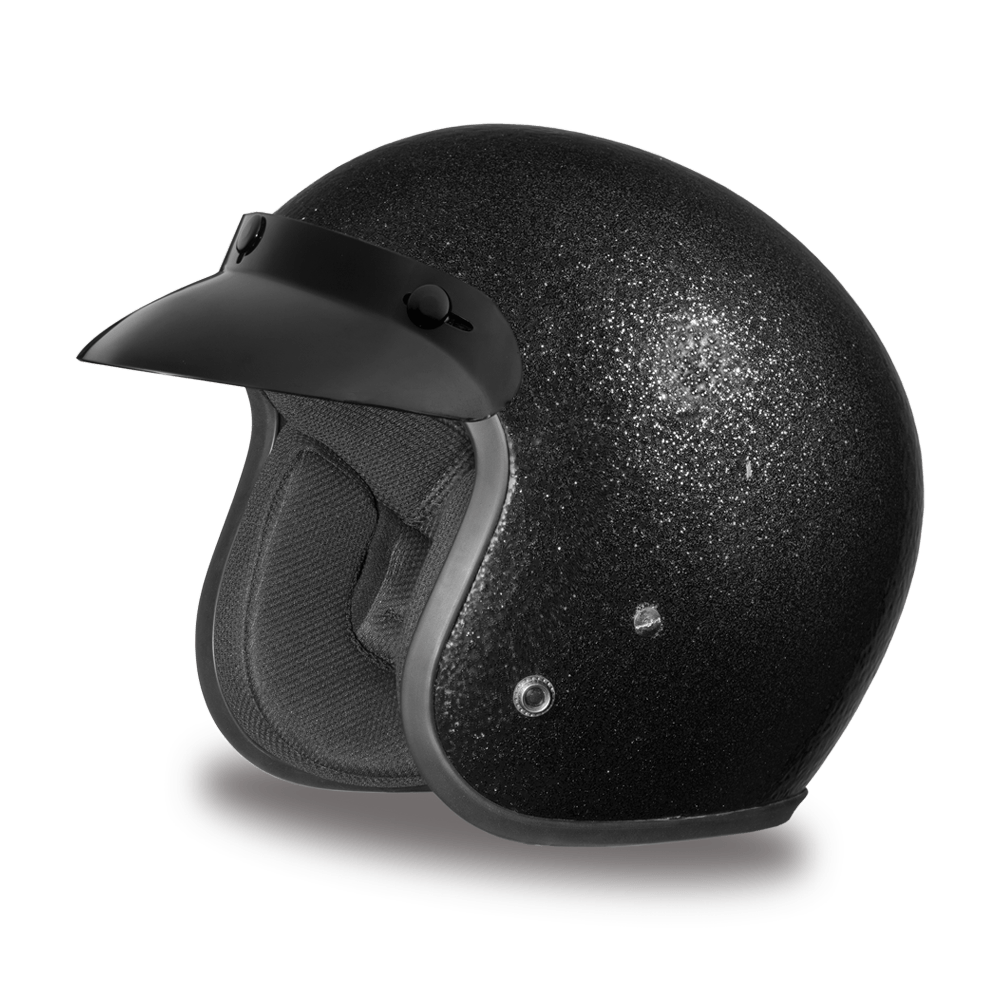 Daytona Helmets D.O.T. Approved 3/4 Shell Helmets (Cruiser)