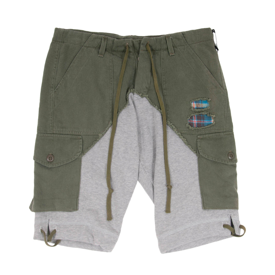 50/50 Army Terry Shorts Greg Lauren
