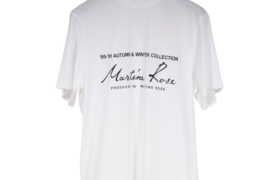 90-91 AW Collection T Shirt (White) Martine Rose