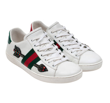 Ace Embroidered Arrow Sneakers GUCCI