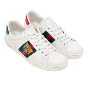Ace Tiger Embroidered Sneakers GUCCI