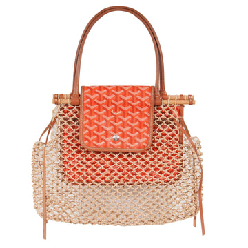 Aligre Net Tote Bag (Orange) GOYARD