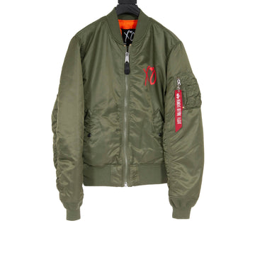 Alpha Industries Stargirl Bomber (Olive) The Weeknd