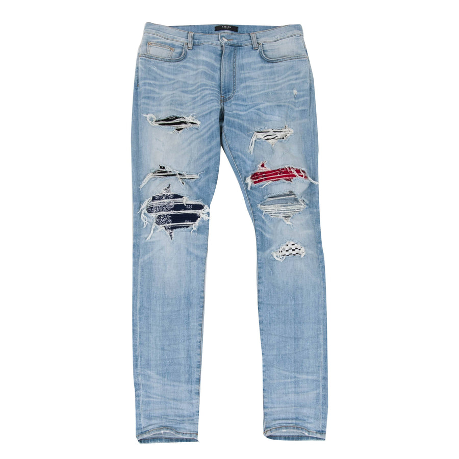Art Patch Bandana Jeans Amiri