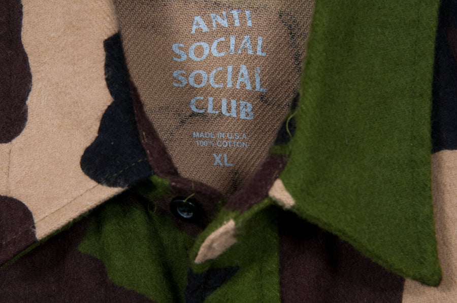 ASSC Camouflage Flannel Anti Social Social Club