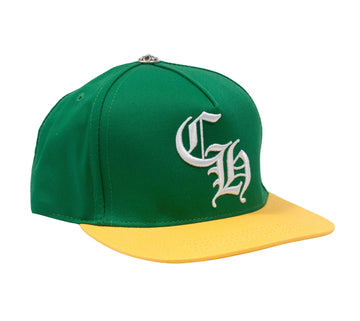 Baseball Cap (Green/Yellow) CHROME HEARTS