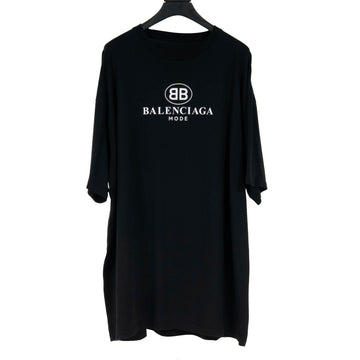 BB Mode Logo T Shirt (Black) BALENCIAGA