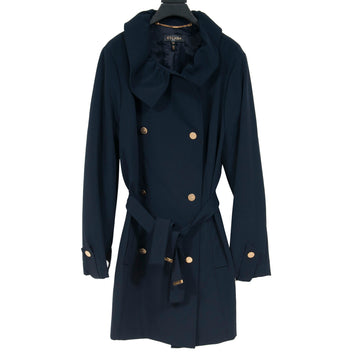 Belted Trench Coat (Navy) Escada