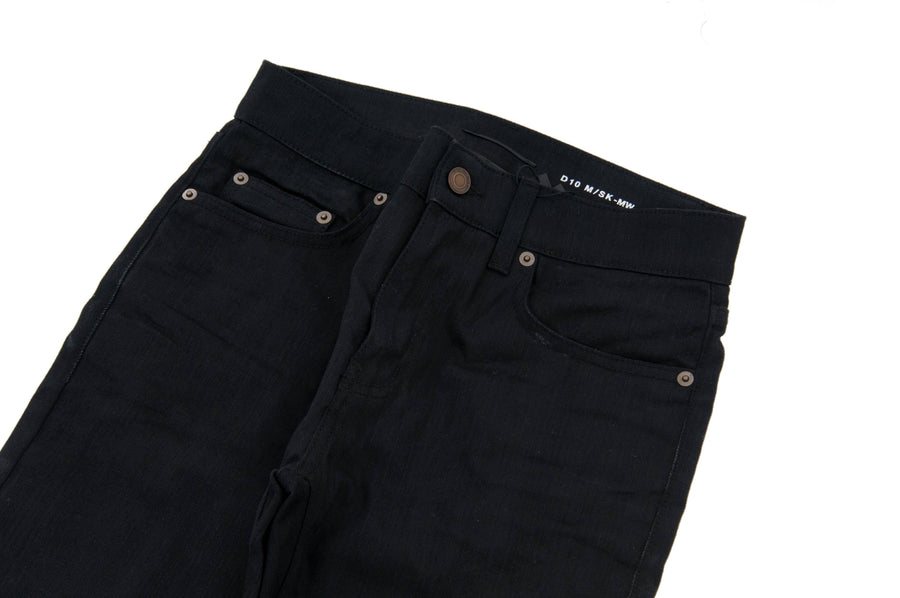 Black Raw Hem D10 Jeans SAINT LAURENT