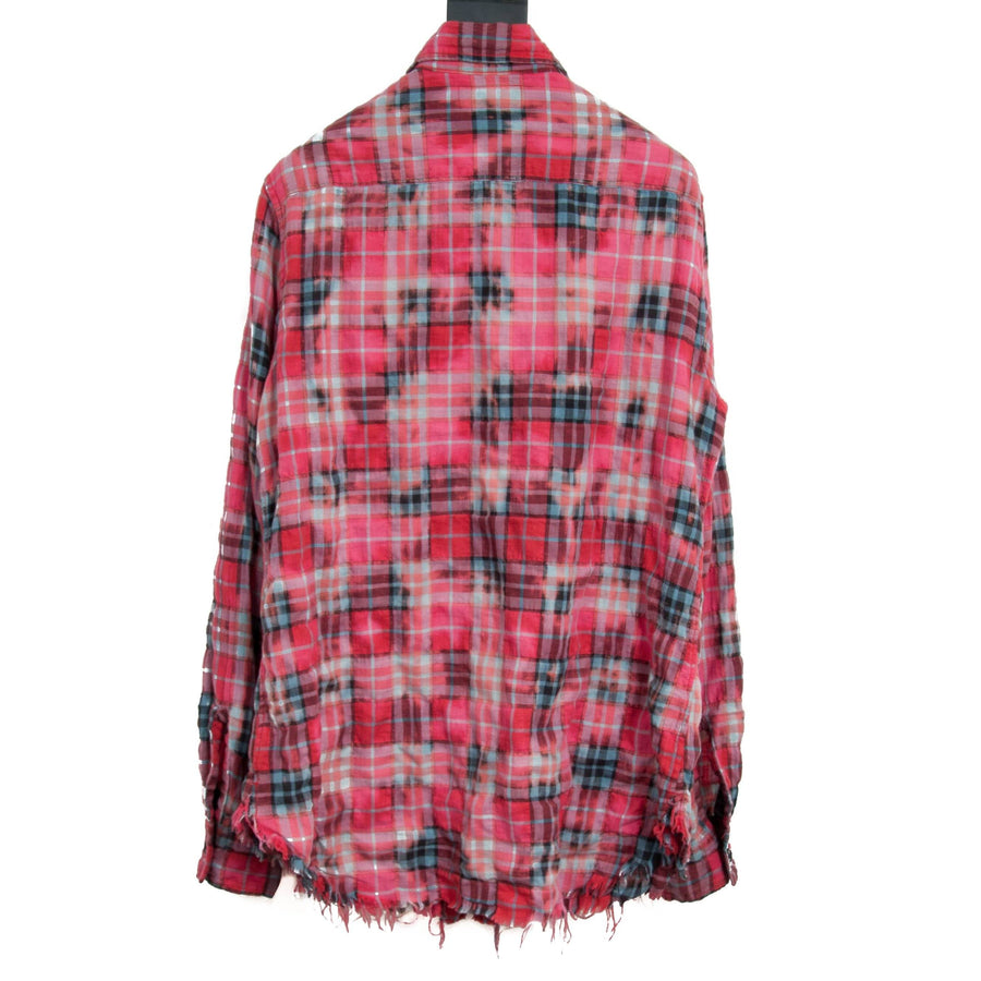 Bleached Red Flannel SAINT LAURENT