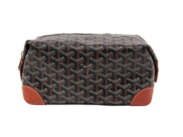 Boeing 25 Trousse Toiletry Bag (Black/Brown) GOYARD