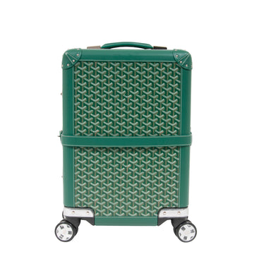 Bourget Rolling Luggage (Green) GOYARD