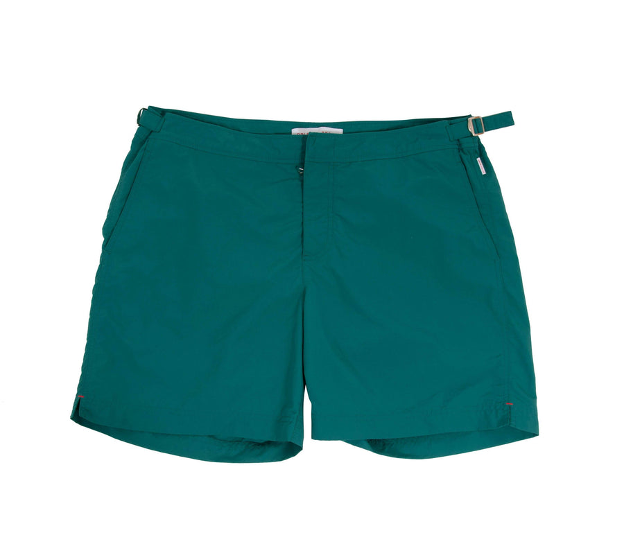 Bulldog Swim Shorts (Green) Orlebar Brown