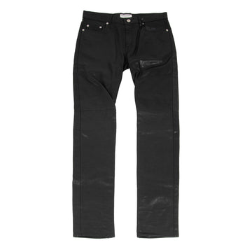 Calf Leather Jeans (Black) SAINT LAURENT