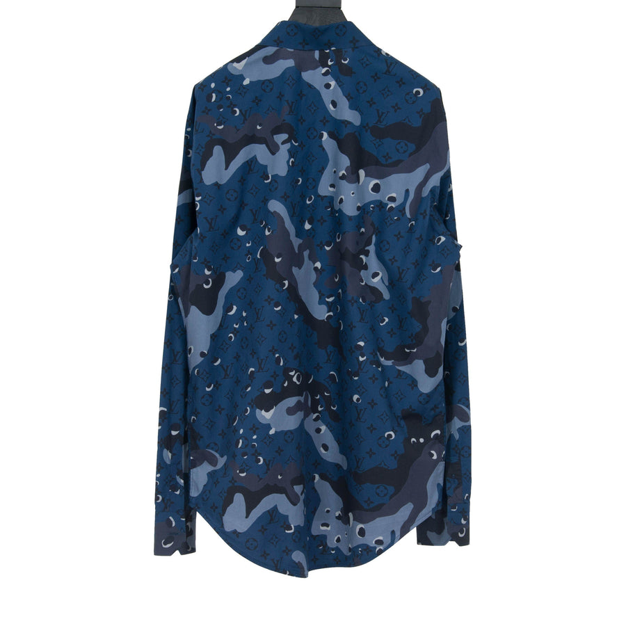 Camo DNA Shirt (Ocean) LOUIS VUITTON