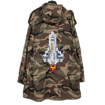 Camouflage Rocket Parka SAINT LAURENT
