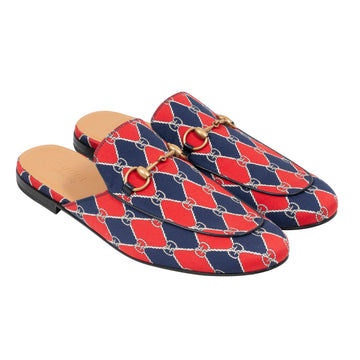 Canvas Princetown Slippers GUCCI