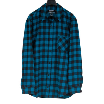 Checkered Flannel (Blue/Black) ADAPTATION x Warren Lotas