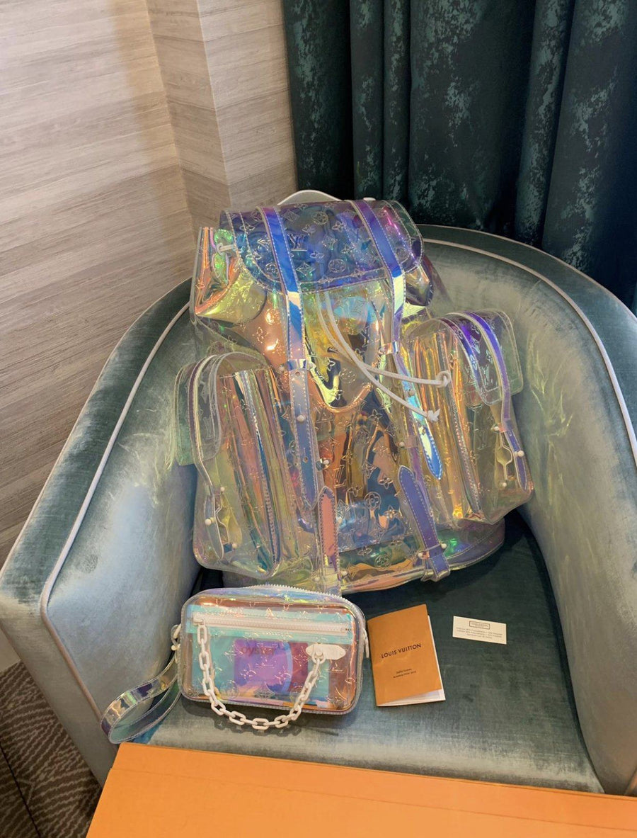 Christopher Backpack Monogram GM Prism LOUIS VUITTON