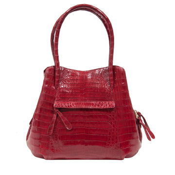 Croc Hand Bag (Red) Nancy Gonzalez