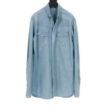 Denim Shirt BALMAIN