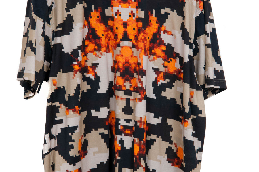 Digital Camouflage T Shirt GIVENCHY